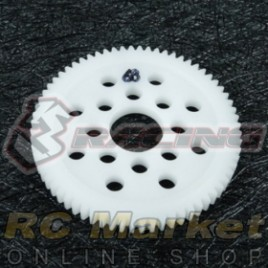 3RACING 3RAC-SG4868 48 Pitch Spur Gear 68T