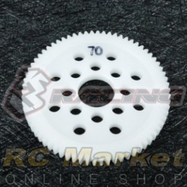 3RACING 3RAC-SG4870 48 Pitch Spur Gear 70T