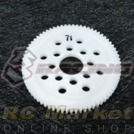 3RACING 3RAC-SG4871 48 Pitch Spur Gear 71T