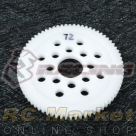 3RACING 3RAC-SG4872 48 Pitch Spur Gear 72T