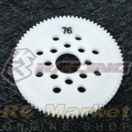 3RACING 3RAC-SG4876 48 Pitch Spur Gear 76T