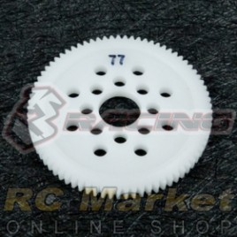 3RACING 3RAC-SG4877 48 Pitch Spur Gear 77T