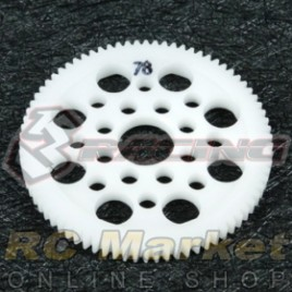 3RACING 3RAC-SG4878 48 Pitch Spur Gear 78T