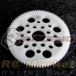 3RACING 3RAC-SG4880 48 Pitch Spur Gear 80T