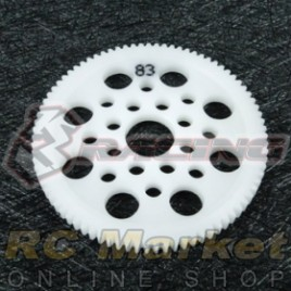 3RACING 3RAC-SG4883 48 Pitch Spur Gear 83T