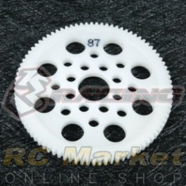 3RACING 3RAC-SG4887 48 Pitch Spur Gear 87T