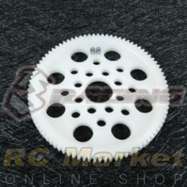 3RACING 3RAC-SG4888 48 Pitch Spur Gear 88T