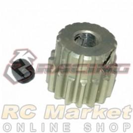 3RACING 3RAC-PG4816 48 Pitch Pinion Gear 16T (7075 w/Hard Coating)