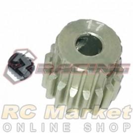 3RACING 3RAC-PG4817 48 Pitch Pinion Gear 17T (7075 w/Hard Coating)