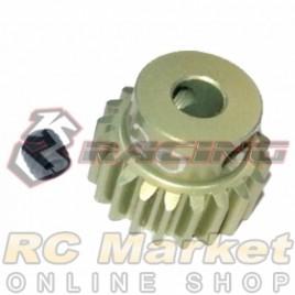 3RACING 3RAC-PG4820 48 Pitch Pinion Gear 20T (7075 w/Hard Coating)