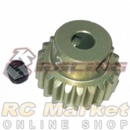 3RACING 3RAC-PG4821 48 Pitch Pinion Gear 21T (7075 w/Hard Coating)