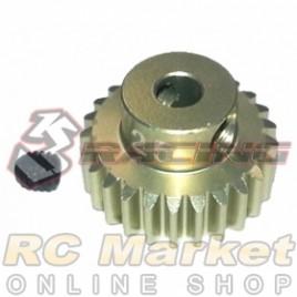 3RACING 3RAC-PG4825 48 Pitch Pinion Gear 25T (7075 w/Hard Coating)