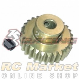 3RACING 3RAC-PG4827 48 Pitch Pinion Gear 27T (7075 w/Hard Coating)