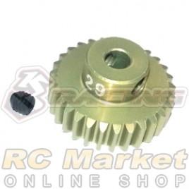 3RACING 3RAC-PG4829 48 Pitch Pinion Gear 29T (7075 w/Hard Coating)