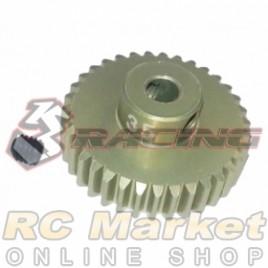 3RACING 3RAC-PG4835 48 Pitch Pinion Gear 35T (7075 w/Hard Coating)