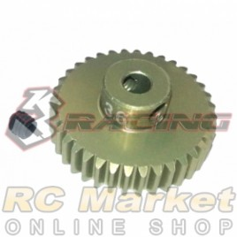 3RACING 3RAC-PG4836 48 Pitch Pinion Gear 36T (7075 w/Hard Coating)