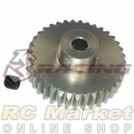 3RACING 3RAC-PG4837 48 Pitch Pinion Gear 37T (7075 w/Hard Coating)