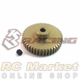 3RACING 3RAC-PG4843 48 Pitch Pinion Gear 43T (7075 w/Hard Coating)