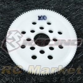 3RACING 3RAC-SG64100 64 Pitch Spur Gear 100T
