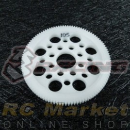 3RACING 3RAC-SG64105 64 Pitch Spur Gear 105T