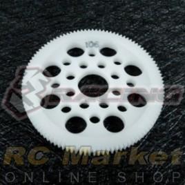3RACING 3RAC-SG64106 64 Pitch Spur Gear 106T