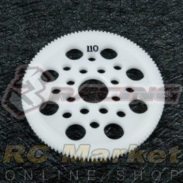 3RACING 3RAC-SG64110 64 Pitch Spur Gear 110T