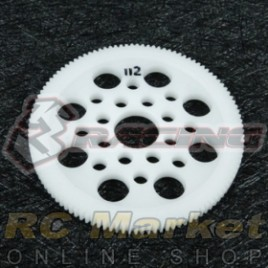 3RACING 3RAC-SG64112 64 Pitch Spur Gear 112T