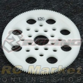 3RACING 3RAC-SG64120 64 Pitch Spur Gear 120T