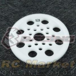 3RACING 3RAC-SG64121 64 Pitch Spur Gear 121T