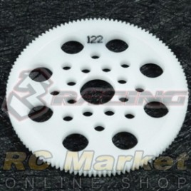 3RACING 3RAC-SG64122 64 Pitch Spur Gear 122T