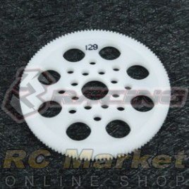 3RACING 3RAC-SG64129 64 Pitch Spur Gear 129T