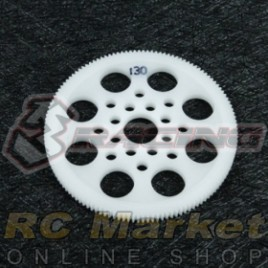 3RACING 3RAC-SG64130 64 Pitch Spur Gear 130T