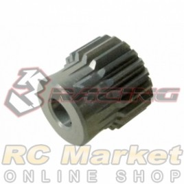 3RACING 3RAC-PG6421 64 Pitch Pinion Gear 21T (7075 w/Hard Coating)
