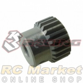 3RACING 3RAC-PG6423 64 Pitch Pinion Gear 23T (7075 w/Hard Coating)