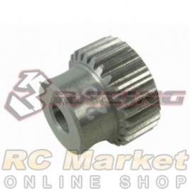 3RACING 3RAC-PG6425 64 Pitch Pinion Gear 25T (7075 w/Hard Coating)