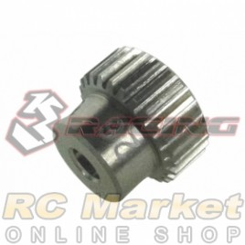 3RACING 3RAC-PG6426 64 Pitch Pinion Gear 26T (7075 w/Hard Coating)