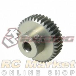 3RACING 3RAC-PG6439 64 Pitch Pinion Gear 39T (7075 w/Hard Coating)