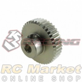 3RACING 3RAC-PG6441 64 Pitch Pinion Gear 41T (7075 w/Hard Coating)