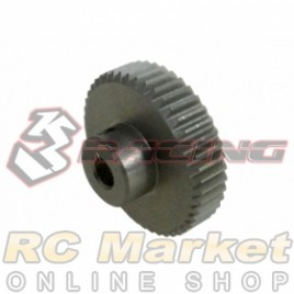 3RACING 3RAC-PG6444 64 Pitch Pinion Gear 44T (7075 w/Hard Coating)