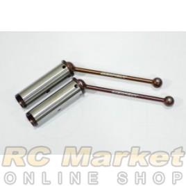 SERPENT 903391 Wheel-axle Set CVD RR (2)