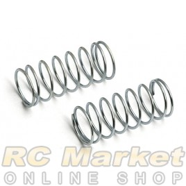 ASSOCIATED 6496 Front Spring/Macro Springs, Silver, 3.85 lb