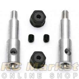 ASSOCIATED 6220 Aluminum Front Inline Axles