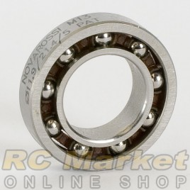 NOVAROSSI 16604 Rear Ball Bearings Ø11,9x21,4x5,3mm - 9 Steel Balls