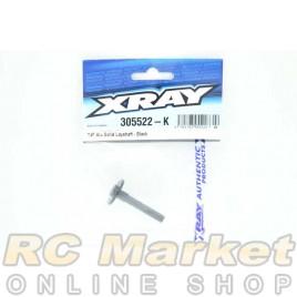 XRAY 305522-K T4F Alu Solid Layshaft - Black