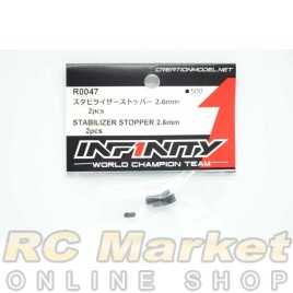 INFINITY R0047 IF18 Stabilizer Stopper 2.6mm 2pcs
