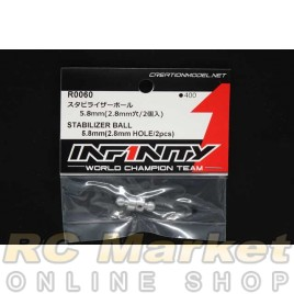 INFINITY R0060 IF18 Stabilizer Ball 5.8mm (2.8 Hole) 2pcs
