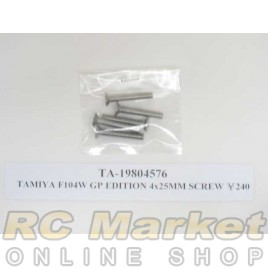 TAMIYA 19804576 F104W GP Edition 4x25 mm Screw