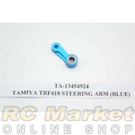 TAMIYA 13454924 TRF418 Steering Arm (Blue)