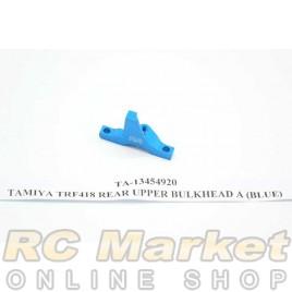 TAMIYA 13454920 TRF418 Rear Upper Bulkhead A (Blue)