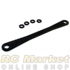 3RACING FW05-028 Rear Graphite Body Post Plate